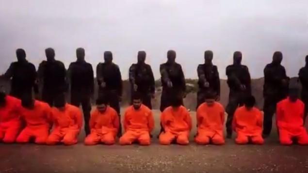 صورة شاشة من فيديو اصدرته مجموعة معارضة سورية في 7 ديسمبر 2015 (screen capture: YouTube)