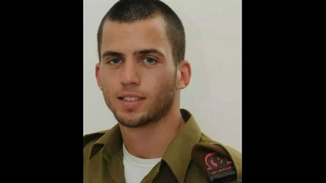 الجندي اورون شاؤول، الذي اكد الجيش مقتله في غزة في 25 يوليو 2014 (Courtesy)