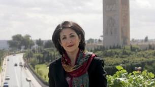 (ارشيف) النائبة الهولندية من اصل مغربي خديجة عريب، التي تم انتخابها مؤخرا رئيسة لمجلس النواب في البرلمان الهولندي، في صورة تعود الى 25 مارس 2007 في مدينة الرباط (ABDELHAK SENNA / AFP)