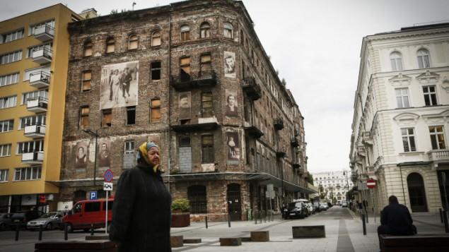 من الأرشيف: صورة توضيحية لمدينة وارسو في بولندا. (Miriam Alster/FLASH90)