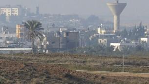 السياج الحدودي بين اسرائيل وقطاع غزة (David Buimovitch/Flash90)