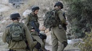 جنود من فرقة 'كفير' في الجيش الإسرائيلي (IDF Spokesperson/FLASH90)
