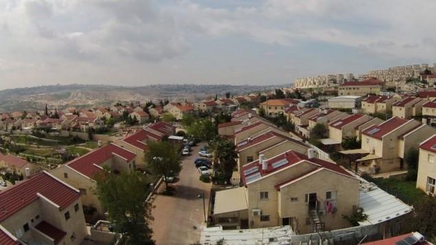 مستوطنة كوخاف هشاحر في الضفة الغربية (CC BY-SA Jonathan Caras/Wikimedia Commons)
