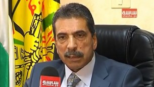 توفيق طيراوي (لقطة شاشة:  ScreenNews/YouTube)