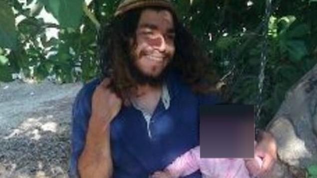 عميرام بن اوليئل، الذي تم توجيه لائحة اتهام ضده في 3 يناير 2016 لقتل افراد عائلة دوابشة في دوما (courtesy)