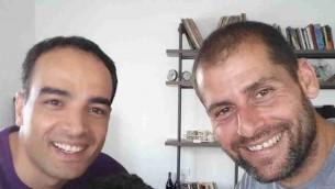 مؤسسا 'زيتون فنتشورز' فرسان حسين (من اليسار) وعامي درور. (Courtesy)