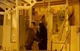 الشرطة تعتقل شابة للإشتباه بنيتها تنفيذ هجوم في نهاريا، 11يناير، 2016. (لقطة شاشة: القناة 2)