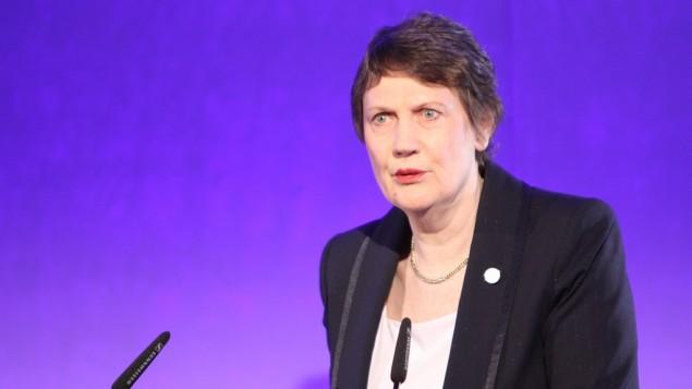 مديرة برنامج الامم المتحدة للتنمية هيلين كلارك عام 2011 (CC BY Chatham House, Flickr)