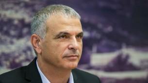 وزير المالية موشيه كحلون (Yonatan Sindel/Flash90)