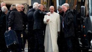 البابا فرنسيس في الفاتيكان، 6 مارس 2016 (TIZIANA FABI / AFP)