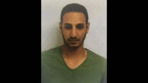 ضابط الشاباك أمير ميموني، 29 عاما، الذي قُتل بنيران صديقة خلال عملية خارج قطاع غزة في 8 مارس، 2016. (جهاز الأمن العام)