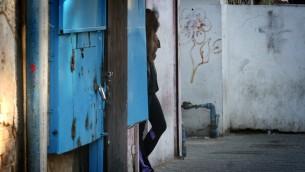 صورة توضيحية: عاملة جنس في شوارع جنوب تل ابيب، 1 يناير 2013 (Flash90)