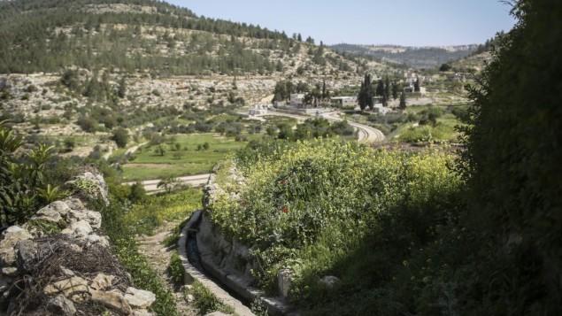 صورة توضيحية: تلال بيت لحم (Hadas Parush/Flash90)