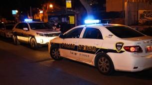 سيارة شرطة، صورة توضيحية (Moti Karelitz/Flash90)