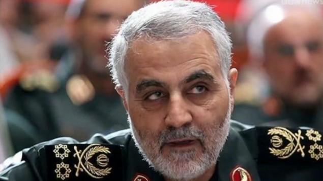 قائد فيلق القدس في الحرس الثوري الإيراني الجنرال قاسم سليماني (YouTube/BBC Newsnight)