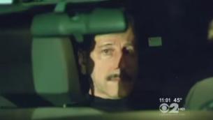 سالفاتوري بيروني بعد إعتقاله في 2012 لقتله 3 أصحاب متاجر في بروكلين. (لقطة شاشة: CBS New York/YouTube)