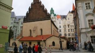 الكنيس القديم الجديد في براغ، من اقدم الكنس في اوروبا (CC BY-SA greynforty, Flickr)