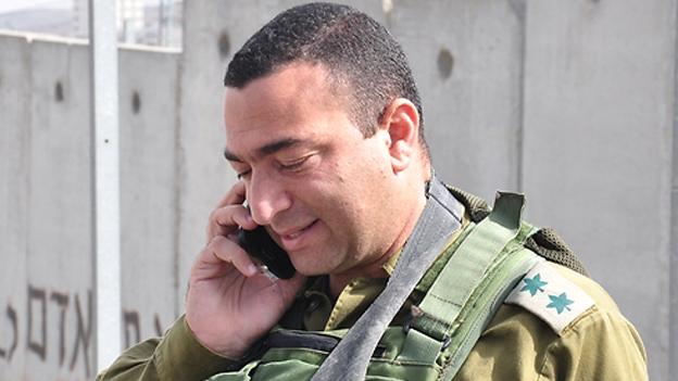 صورة لللعقيد يسرائيل شومر، الذي تمت تبرأته في 10 أبريل في حادثة قتل فتى فلسطيتي بعد إطلاق النار عليه في الصيف الماضي. (وحدة المتحدث بإسم الجيش الإسرائيلي)