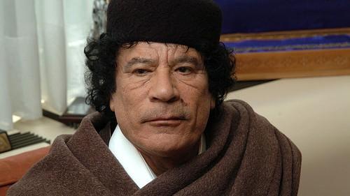 الرئيس الليبي السابق معمر القذافي (CC BY-SA openDemocracy, Flickr)