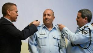 جمال حركوش، أول مفوض عربي مسلم في تاريخ الشرطة الإسرائيلية. (الشرطة الإسرائيلية)