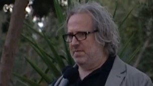 مخرج الافلام الإسرائيلي أودي الوني (Channel 10 news)