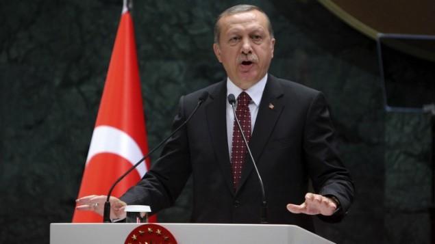 الرئيس التركي رجب طيب اردوغان خلال خطاب في انقرة، 10 مايو 2016 (ADEM ALTAN / AFP)