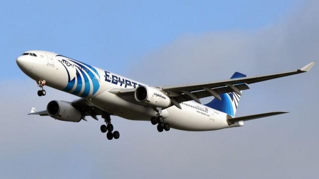 طائرة تابعة لشركة 'مصر للطيران' من طراز A330-343X في عام 2014. (CC BY-SA Eric Salard, Flickr)