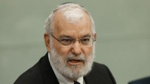 مستشار الامن القومي الإسرائيلي السابق يعكوف عميدرور (Flash90)