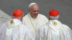 البابا فرنسيس في الفاتيكان (Filippo Monteforte/AFP)