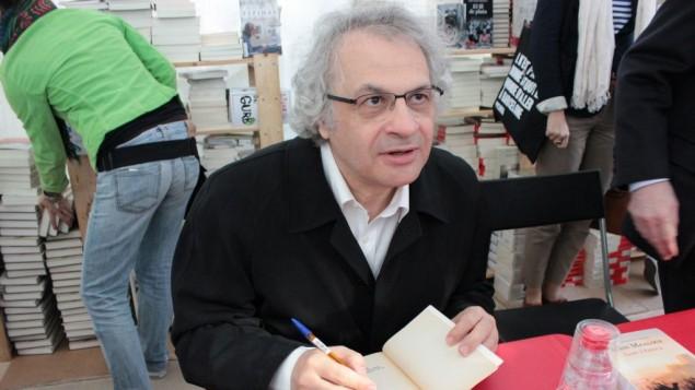 الكاتب والاكاديمي اللبناني الفرنسي امين معلوف (CC BY-SA Tasnim Aslam, Flick)