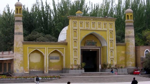 صورة توضيحية لمسجد في منطقة شينجيانغ في الصين (CC BY-SA Colegota, Wikipedia)