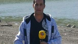 بسام الصفدي (لقطة شاشة: قناة العالم)