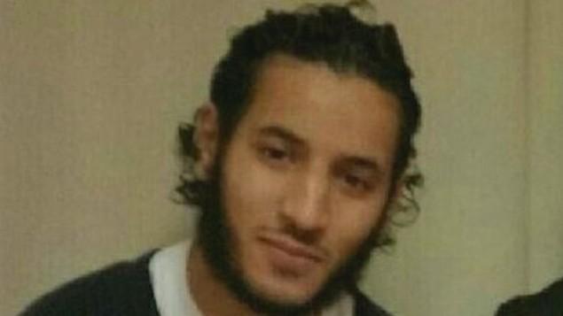 العروسي عبد الله، المعتدي الذي طعن شرطيا فرنسيا امام منزله وقتل صديقته في احدى ضواحي باريس، 13 يونيو 2016 (YouTube/AFP)