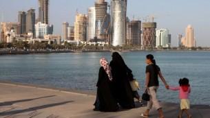 من الأرشيف: صورة  للعاصمة القطرية الدوحة. ( Shutterstock images)