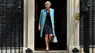 وزيرة الداخلية البريطانية تيريزا ماي  في لندن، 27 يونيو 2016 (Leon Neal/AFP)