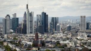 مدينة فرانكفورت في المانيا، 20 سبتمبر 2012 (ODD ANDERSEN / AFP)