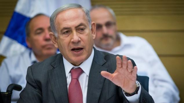 رئيس الوزراء بينيامين نتنياهو في الكنيست في 25 يوليو، 2016. (Yonatan Sindel/Flash90)