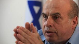 ناتان شارانسكي، رئيس الوكالة اليهودية. (Nati Shohat/Flash90)