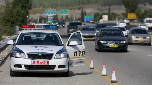 الشرطة الإسرلئيلية، 22 ديسمبرن 2010 (صورة توضيحية: Abir Sultan/Flash 90)