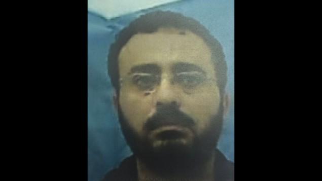 وحيد عبد الله بورش، مهدس يعمل في 'برنامج الأمم المتحدة الإنمائي'، متهم باستغلال منصبه لمساعدة حركة حماس، 9 أغسطس، 2016. (Shin Bet)