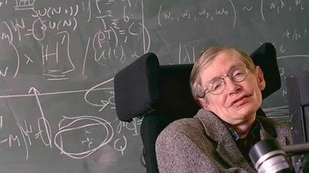عالم الفيزياء النظرية سيتفن هوكينغ. (CC-BY elhombredenegro/Flickr)