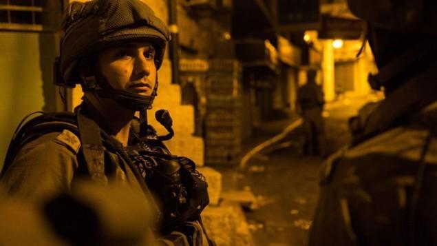 مداهمات ليلية قي الضفة الغربية 1 اغسطس 2016 (IDF Spokesperson)