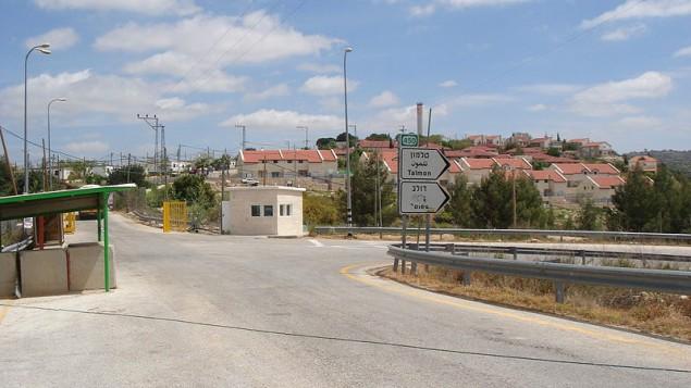 مستوطنة نحليئيل، وسط الضفة الغربية. (Wikimedia Commons, CC BY-SA 3.0, Dnd man)