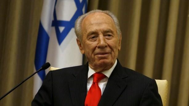الرئيس شمعون بيريس عام 2009 (Miriam Alster/Flash90)