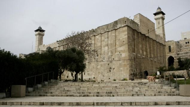 الحرم الابراهيمي في الخليل (Abir Sultan/Flash90)