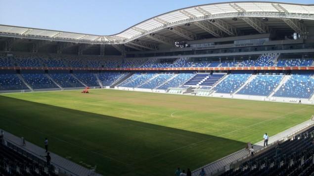 ملعب سامي عوفر في حيفا، إسرائيل. (CC-BY-SA-/Itaizo/Wikimedia)