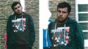صورة نشرتها الشرطة الالمانية في 8 اكتوبر 2016 يعتقد انها تظهر طالب اللجوء السوري جابر البكر، الذي تم العثور على متفجرات في شقته (HO / LANDESKRIMINALAMT SACHSEN / AFP)