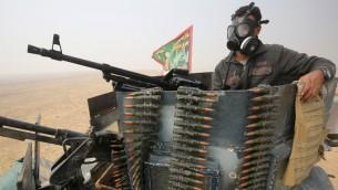 القوات العراقية خلال عملية استعادة الموصل، معقل تنظيم الدولة الإسلامية، 24 اكتوبر 2016 (AFP/Ahmad Al-Rubaye)