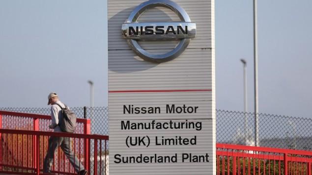 مصنع لشركة السيارات اليابانية العملاقة نيسان في بريطانيا، 25 اكتوبر 2016 (SCOTT HEPPELL / AFP)