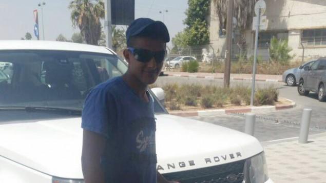 نمر باسم ابو عمار (15 عاما)، البدوي الإسرائيلي الذي قُتل بالرصاص اثناء عمله لدى شركة متعاقدة وظقتها وزارة الدفاع بالقرب من الحدود المصرية، 25 اكتوبر 2016 (Courtesy)
